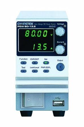 GW Instek PSW 80-13 5 Programmable Multi-Range Switching DC