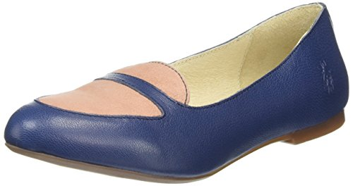 FLYA4|#Fly London Maya902fly, Bailarinas para Mujer Azul (Blue/Rose 003)