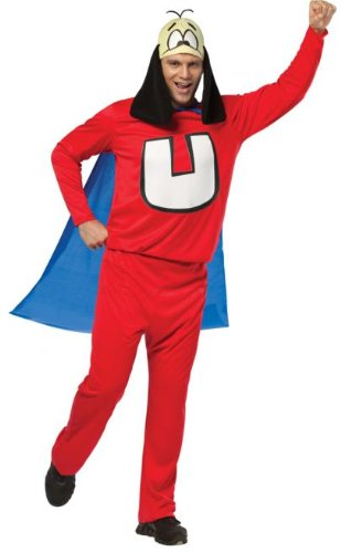 Rasta Imposta Underdog, Red/Blue, One (Underdog Cape)