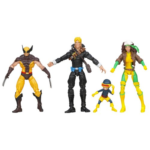 Marvel Universe Super Hero Teams The Uncanny X-Men Action Figure Box Set