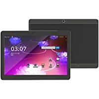 10.1Inch Octa Core WIFI Tablet PC,Aritone Android 6.0 4G HD 4GB+64GB 2 SIM (Black)