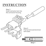 IWISS Weather Pack Crimp Tool for AWG 24-14