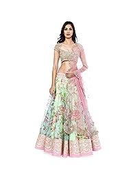 Exclusive New Indian Pakistani Traditional Ethnic Women Designer Floral Lehenga Choli