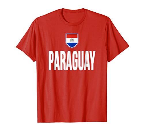 Paraguay Soccer T-shirt - Paraguay T-shirt Paraguayan Flag Soccer Futbol Fan Jersey