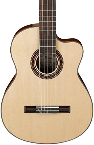 Ibanez G207CWCNT Solid Top Classical Acoustic 7-String Guitar Gloss Natural