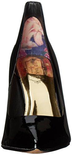 Ted Baker Women's Saviy PATL AF Formal Shoe Dress Pump Black Patent Leather shop cheap online cheap low cost KEgiCU