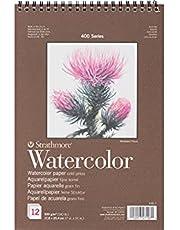 """Strathmore Watercolour Pad uit de 400-serie (7x10"""") Strathmore 400 serie aquarel pad (7x10"""") 12 vellen"""