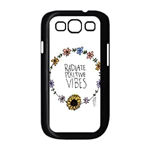 Good Vibes Custom Cover Case for Samsung Galaxy S3 I9300,diy phone case ygtg582039