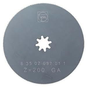 Fein 63502097027 - Hoja de sierra circular (acero rápido, diámetro de 80 mm)
