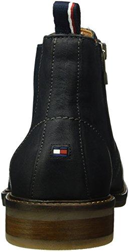 Tommy Hilfiger Herren R2285ounder 2n Chelsea Boots Blau (Navy 467)