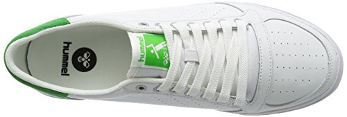 Adulte White Mixte Green Hummel Ace Baskets Stadil Wei 9208 Basses Slimmer 88n6Yf4