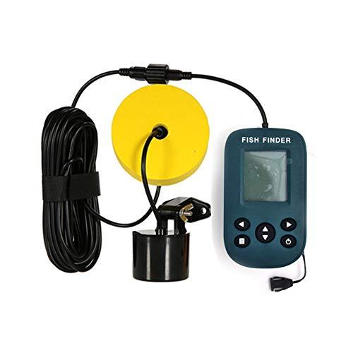 Window-pick Portable Fish Finder Deep Fishfinder with LCD Display Wired Sonar Sensor ()