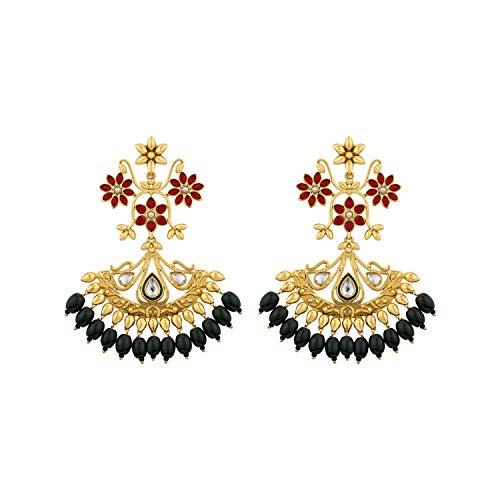 Voylla Noor-Jahan Guldasta Earrings For Women