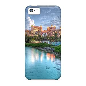 linJUN FENGFor iphone 5/5s Protector Cases Atlantis Resort In The Bahamas Hdr Phone Covers