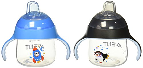 Philips AVENT 2 Piece My Little Sippy Cup, - Boy Glasses Little
