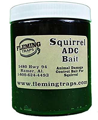 Fleming Traps Squirrel ADC Bait - 6 oz.