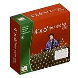 Holiday Wonderland 150-Count Clear Christmas Lights Net Light/ Tree Wrap 4x6 Feet