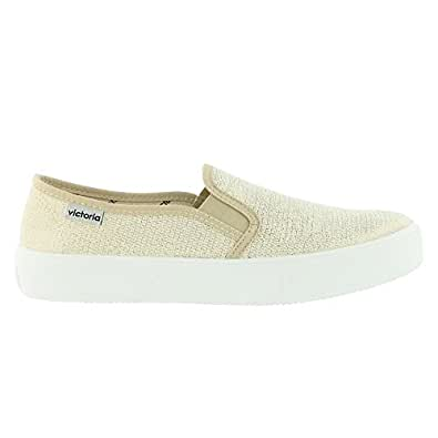 Zapatillas Victoria 25065 - Slip-on Lurex: Amazon.es: Zapatos y complementos