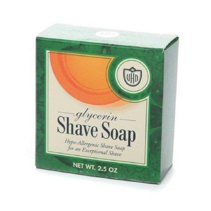 van der Hagen Glycerine Shave Soap - 2 Pack (Van Der Hagen Glycerin)