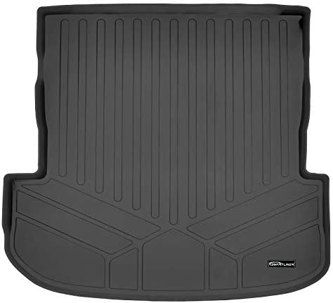 SMARTLINER All Weather Custom Cargo Liner Trunk Floor Mat Black for 2020-2021 Hyundai Palisade