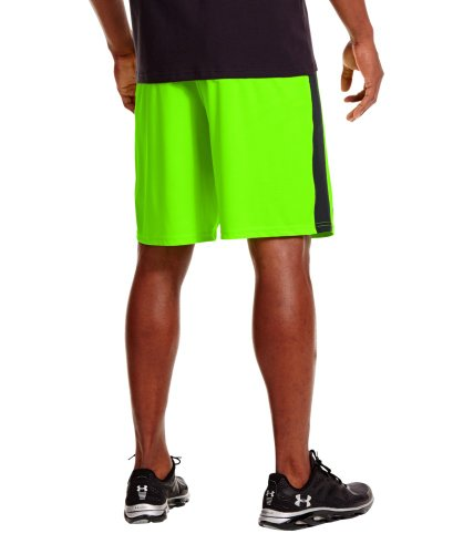 Under Armour Men's UA Micro Printed Shorts Large HYPER GREEN