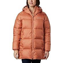 Columbia Puffect - chamarra de invierno con capucha para mujer, repelente al agua