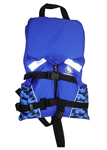 Swimline USCG Approved Blue Infant Life Vest with Handle for