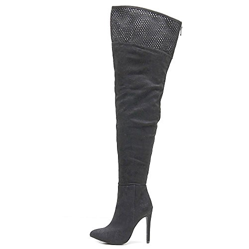 Call It Spring Womens Haadollan Closed Toe Over Knee Fashion Boots Black IpsmTNr