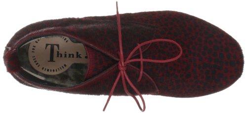 Think Denk 89010 - Botas para mujer Rojo (Rot (rosso/kombi 72))