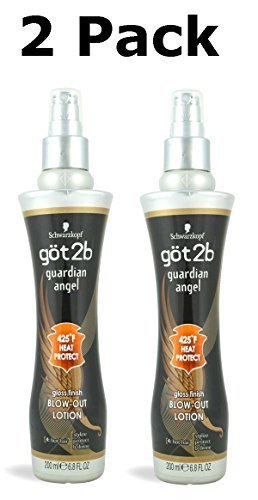 Got2b Guardian Angel Blow Out Lotion with Gloss Finish, 6.8-Ounce (Pack of (Style High Gloss Spray Gel)