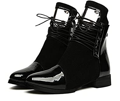 Thk amp;m Dfw Weibliche Schuhe Flach Frauen Stiefel SGUzMVqp