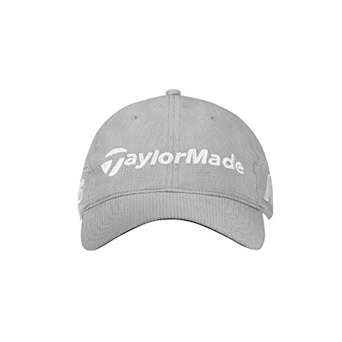 TaylorMade Golf 2018 Men's Litetech Tour Hat, Light Grey, One Size -