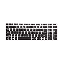 Leze - Ultra Thin Keyboard Cover for Acer Aspire V3-574 V3-575 V3-575T E5-573 E5-574G E5-575 E5-772G E5-532 V5-591G V15 V17 Nitro VN7-592G VN7-792G F15 F5-571 Laptop - Black