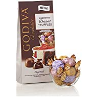 Godiva Chocolatier Wrapped Chocolate Dessert Truffles, Assorted Gift Pack, Easter Basket Stuffers