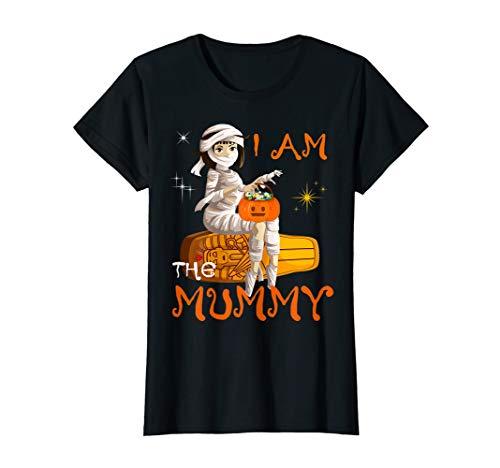 Last Minute Homemade Halloween Costume Ideas Adults (Womens I'm Mummy Mom Halloween Night Costume Trick or Treat Tee)
