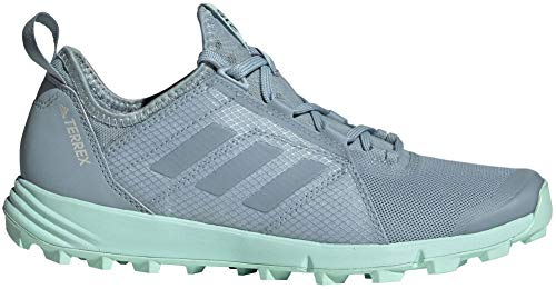 adidas outdoor Terrex Agravic Speed Shoe - Women's Ash Grey/Ash Grey/Clear Mint 10