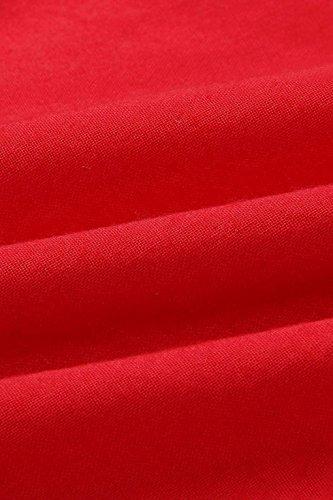 Trapze jaune Femme Robe Minipeach S Rouge Rq5zgx