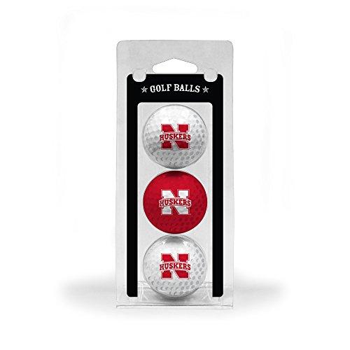 NCAA Nebraska Cornhuskers 3 Golf Ball - Stores Nebraska Outlet Mall