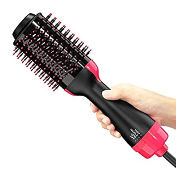Hair Dryer Brush, Elisabeh One Step Hair Dryer & Volumizer, 3-in-
