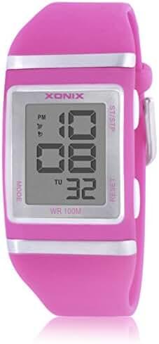 LEDSports waterproof watch/Boys children multifunctional diamond watch-K