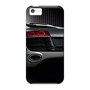 Great Hard Phone Cover For Iphone 5c With Customized Realistic Audi R8 Series AlissaDubois