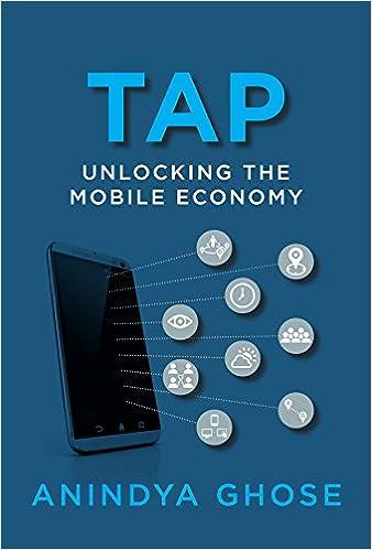 Amazon com: Tap: Unlocking the Mobile Economy (The MIT Press