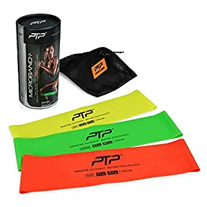 PTP MICROBAND Combo Pack Microband+ Pack (Light, Medium, Heavy)