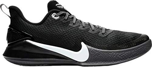 Nike Kobe Mamba Focus Basketball Shoes, (Black/Grey, Size 8.5 M US)