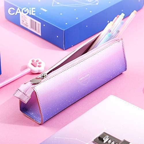 AWENJ Estuche de lápices de Escuela Coreana Penal Kawaii para niñas niños Estuche de lápices de Gran Estrella Creativo Bolso de bolígrafo cosmético Grande Kit de papelería Caja: Amazon.es: Hogar