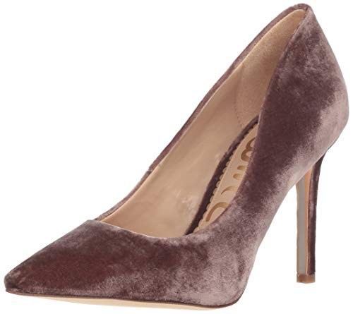 (Sam Edelman Women's Hazel Pump, Mink Shadow Velvet, 7.5 M US)