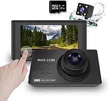 NINE CUBE ドライブレコーダー前後カメラ 1080PフルHD高画質IPS【進化版32Gカード付き】