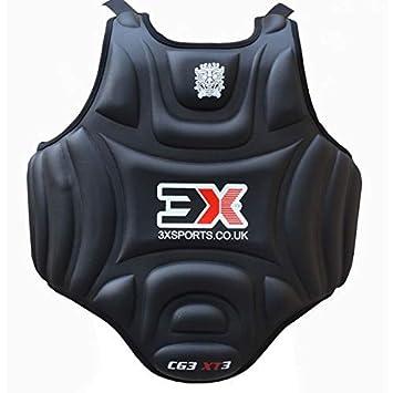 CE-Zertifiziert genehmigt 3X Professional Choice Boxen Brustschutz Rippenschutz R/üstung Taekwondo K/örperschutz Krav MAGA MMA Kampfsport Training