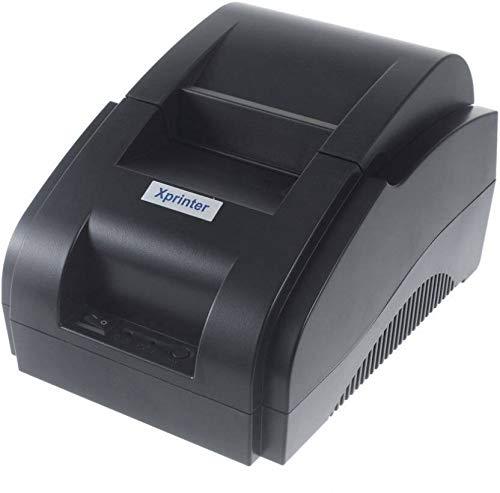 SRMAJI STORE Xprinter 58 mm Thermal Receipt USB Direct Mini Portable Barcode Printer (Black)