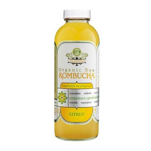 GTs Enlightened Organic Raw Kombucha Lemonade, 16 Ounce -- 12 per case. by GTs Kombucha